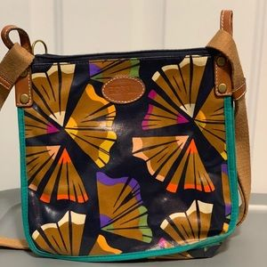 Fossil pencil shavings cross body bag